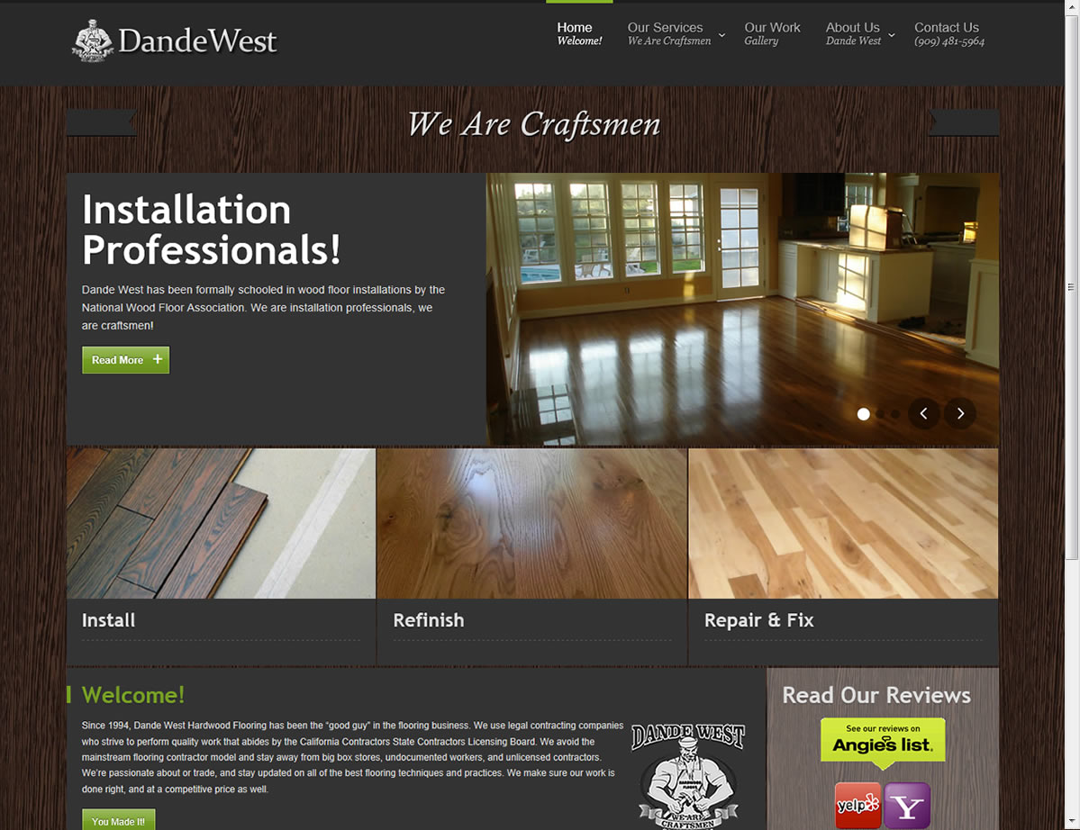 Dande West Web Site