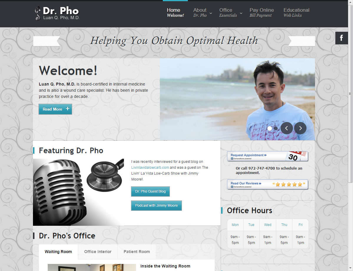 Luan Q Pho MD Web Site